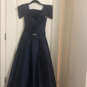 Vince Camuto Navy Blue Formal  Dress